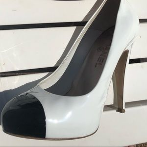 Chanel heels with box